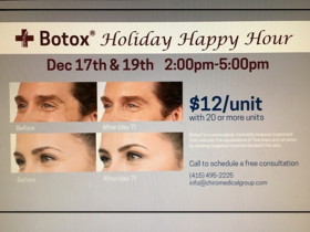 BOTOX Cosmetic Holiday Happy Hour
